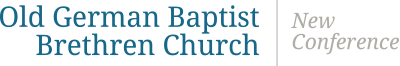Old German Baptist Brethren Church New Conference